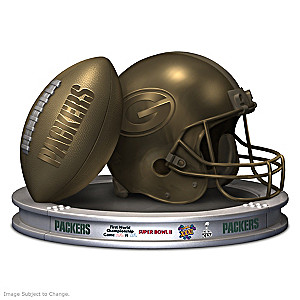 "Blake Jensen ""Green Bay Packers Pride"" Sculpture"