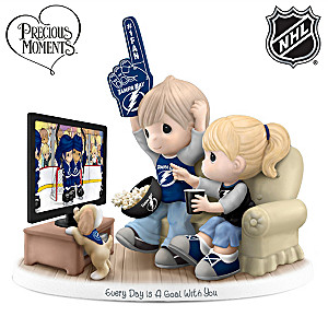 Precious Moments Tampa Bay Lightning® Fan Figurine