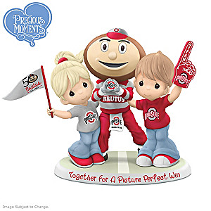Precious Moments Buckeyes Figurine Honors 50 Years Of Brutus