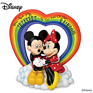 "Disney ""At The End Of The Rainbow"" Sweethearts Figurine"