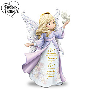 "Lena Liu Precious Moments ""My Strength, My Hope"" Figurine"