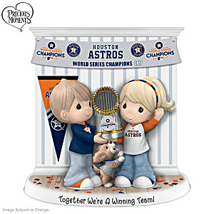 Astros 2017 World Series Precious Moments Figurine