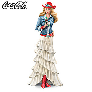 COCA-COLA Red, White And Refreshing Figurine