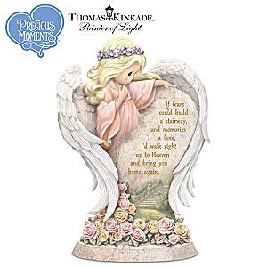 Thomas Kinkade Precious Moments Memorial Angel Sculpture