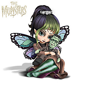 "Jasmine Becket-Griffith ""Herman"" Fairy Munsters Figurine"