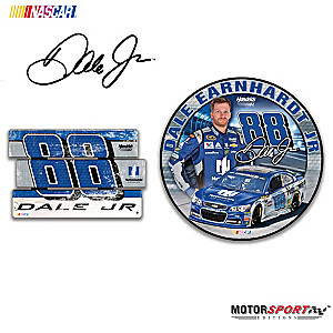 """Dale Earnhardt Jr. """"Signs Of A Champion"""" Wall Decor Set"""