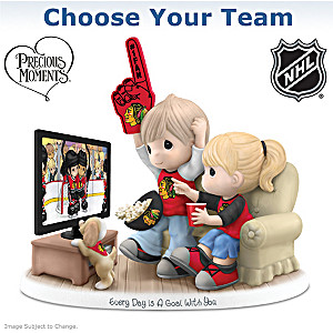 Choose Your NHL® Team: Precious Moments Figurine