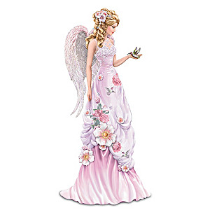 "Lena Liu ""Angelic Beauty"" Figurine With Sculpted Hummingbird"