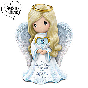"Precious Moments ""Memories Of Love"" Guardian Angel Figurine"