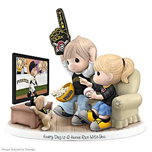 Precious Moments Pittsburgh Pirates Fan Porcelain Figurine