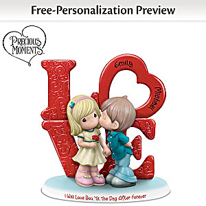 Precious Moments Personalized Figurine Honors Forever Love