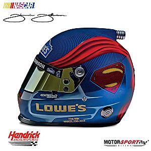 Jimmie Johnson #48 Superman NASCAR® Racing Helmet