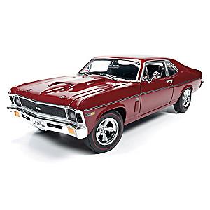 1:18-Scale 1969 Baldwin Motion Chevy Nova Diecast Car