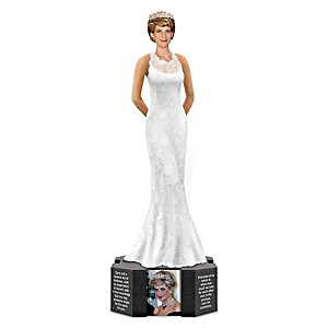 Princess Diana Commemorative Figurine With Quotes