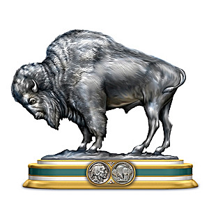 """The Spirit Of The West"" Nickel-Inspired Buffalo Sculpture"