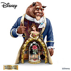 Disney's Beauty And The Beast 3-in-1 Nesting Figurine Set