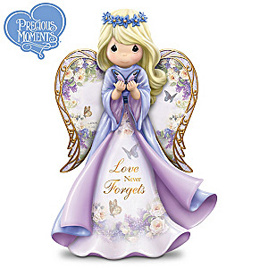 "Lena Liu Precious Moments ""Love Never Forgets"" Figurine"