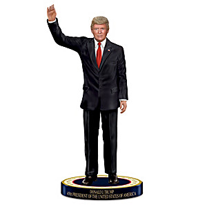 President Donald J. Trump Commemorative Tribute Figurine