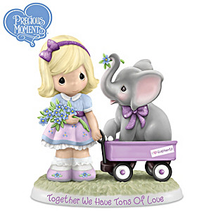 "Precious Moments ""Together We Have Tons Of Love"" Figurine"