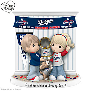 Dodgers 2020 World Series Precious Moments Figurine