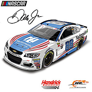 1:24-Scale Dale Jr. Nationwide Patriotic 2017 Diecast Car