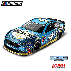 Kevin Harvick No. 4 Busch 2017 1:24-Scale Diecast Car