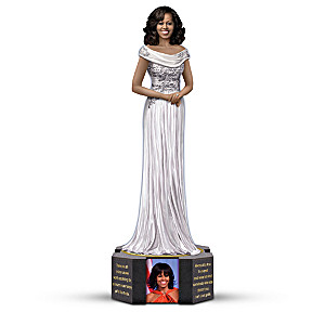 Keith Mallett Michelle Obama Commemorative Figurine