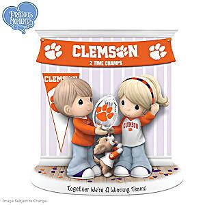 Clemson Tigers Precious Moments Figurine