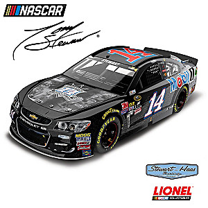 1:24-Scale Tony Stewart No. 14 Last Ride/Mobil 1 Diecast Car