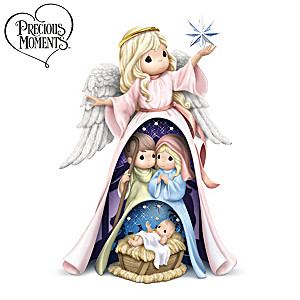 Precious Moments Nativity 3-in-1 Nesting Figurine Set
