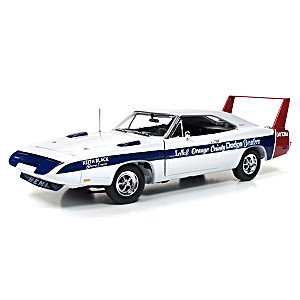 1:18-Scale Cindy Lewis 1969 Dodge Daytona LA Diecast Car
