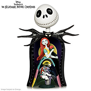 The Nightmare Before Christmas 3-in-1 Nesting Sculpture Set