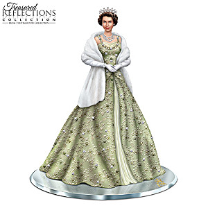 """Reflections Of Queen Elizabeth II"" Handcrafted Figurine"