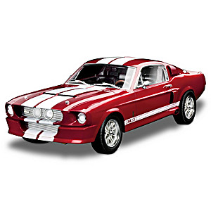 1:18-Scale 1967 Shelby GT-500 50th Anniversary Car Sculpture