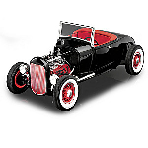 1:18-Scale 1929 Ford Model A Hot Rod Diecast Car