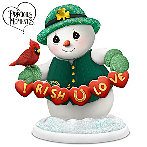 Precious Moments I-RISH You Love Figurine