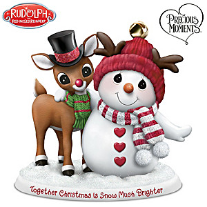"""Together Christmas Is Snow Much Brighter"" Figurine"