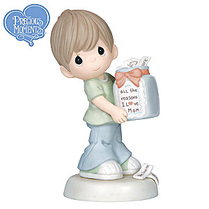 "Precious Moments ""All The Reasons I Love Mom"" Figurine"