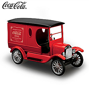 1923 COCA-COLA Model T Model Car Kit With Display Stand