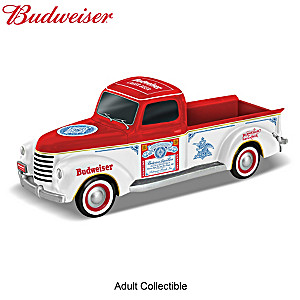 """Thirsty For The Open Road"" Budweiser-Themed Truck Sculpture"