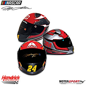Jeff Gordon Hand-Autographed Racing Helmet: Choose From 6