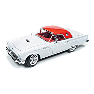 1:18-Scale 1957 Ford Thunderbird Convertible Diecast Car