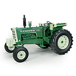 1:16-Scale Oliver 1755 Diecast Tractor