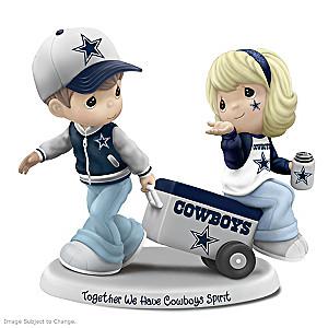 Precious Moments Together We Have Cowboys Spirit Figurine