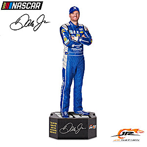 Dale Earnhardt Jr. Commemorative Sculpture With Tribute Base