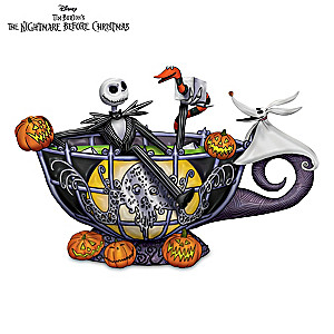 Jack Skellington Glow-In-The-Dark Teacup Figurine
