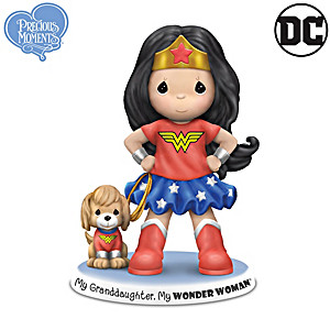 Precious Moments My Granddaughter, My Wonder Woman Figurine