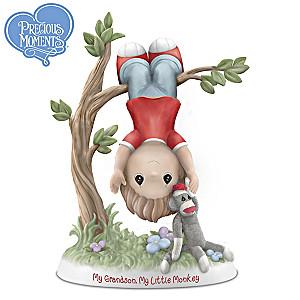 Precious Moments My Grandson, My Little Monkey Figurine
