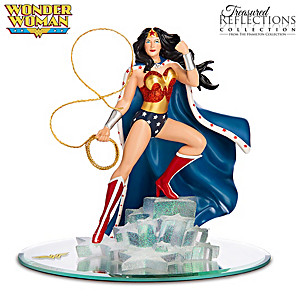 WONDER WOMAN Figurine With Swarovski Crystals