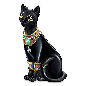 "Blake Jensen ""Pharaoh Of The Night"" Cat Figurine"